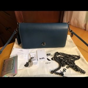 Coach 1941 Dinky with extra chain strap and more.